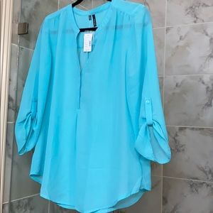 Gorgeous turquoise tunic